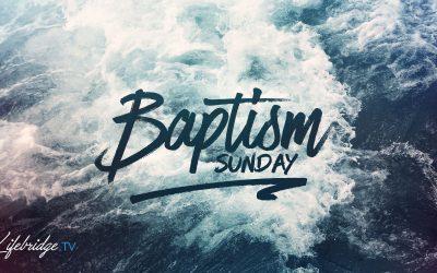 BAPTISM & COMMUNION OCT. 6