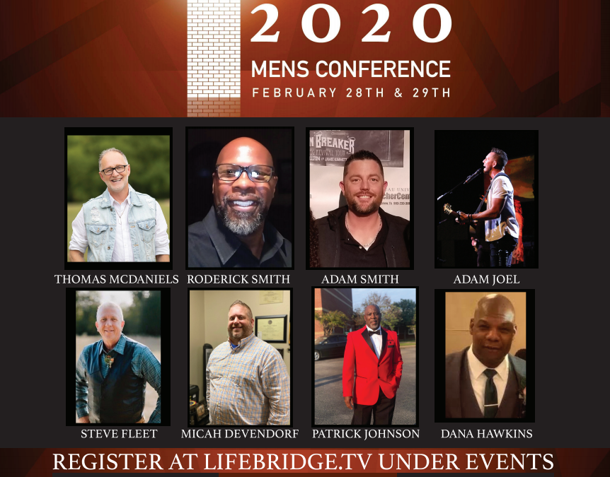 Kingdom Builder's Men's Conference – Feb. 28 and 29