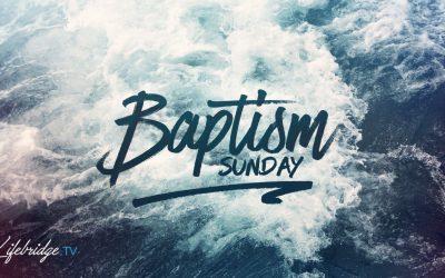 WATER BAPTISM – MAY 31